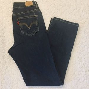 Levi's 512 Perfectly Slimming Denim Jeans 12